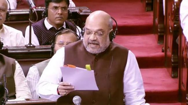 Article 370 Doesn't Link Kashmir With India: Amit Shah - Sakshi Post