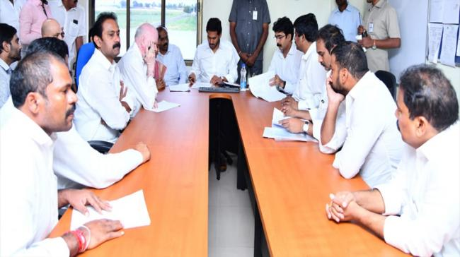 Chief Minister YS Jagan Mohan Reddy directed officials concerned to provide Rs 5,000 to every family affected by floods in Polavaram mandal - Sakshi Post