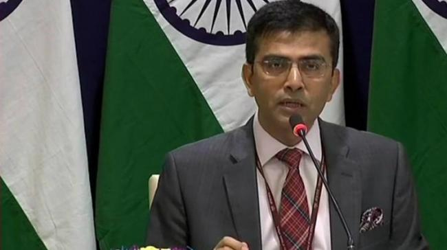 Ministry of External Affairs spokesperson Raveesh Kumar said steps have been taken keeping in mind the best interests of Jammu and Kashmir. - Sakshi Post