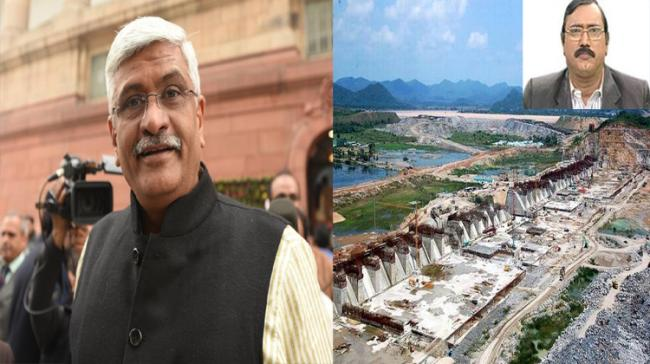 Union minister Gajendra Shekhawat's remarks on Polavaram project's contracts are a bit astonishing. - Sakshi Post