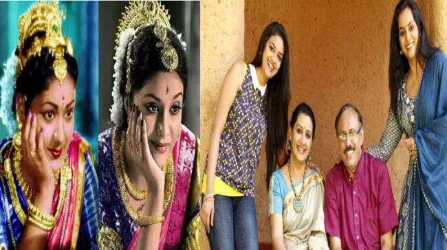 Actress Keerthy Suresh with her family - Sakshi Post