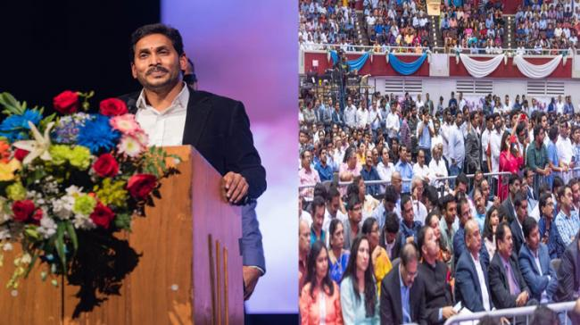 YS Jagan Address To Telugus In Dallas: Full Text Of AP CM Speech - Sakshi Post