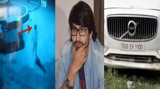 Raj Tarun Caught On CCTV Fleeing The Accident Scene - Sakshi Post