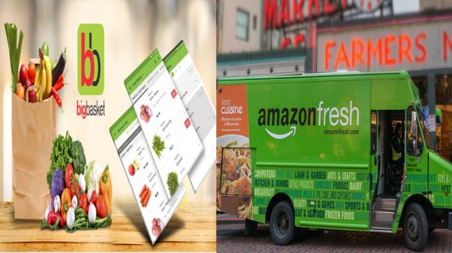 """E-commerce major Amazon India on Thursday announced the launch of """"Amazon Fresh"""", offering food and grocery items, for select pin-codes in the city - Sakshi Post"""