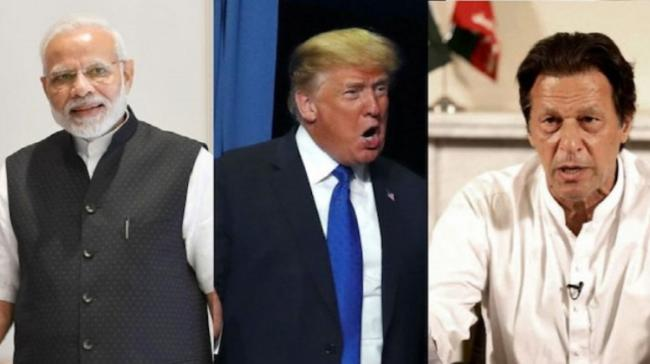 Donald Trump Ready To Assist India and Pakistan On Kashmir - Sakshi Post