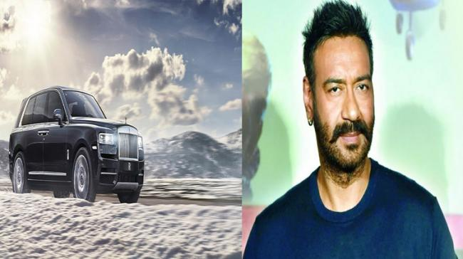 What's the cost of Ajay Devgn's Rolls-Royce Cullinan? - Sakshi Post