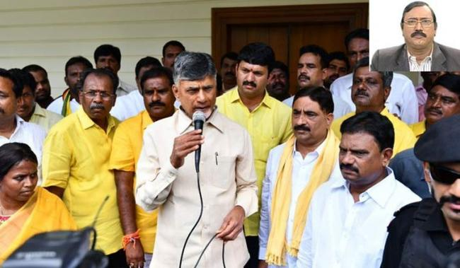 Chandrababu Playing Double Games To Divert People's Attention From Palanadu - Sakshi Post
