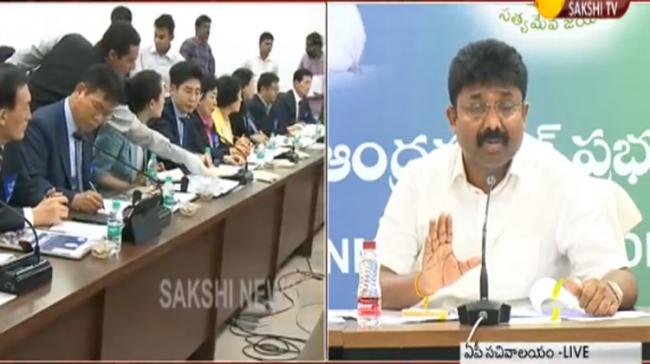 Andhra Pradesh state educational minister Adimulapu Suresh announced that the State government signed a memorandum of understanding with South Korea - Sakshi Post