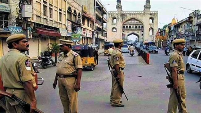 Security Beefed Up In Hyderabad - Sakshi Post