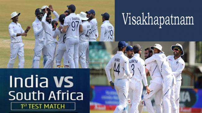 India VS South Africa Test Match - Sakshi Post