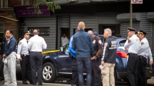 At least four people died and three were wounded in a shooting at a social club in New York early Saturday - Sakshi Post