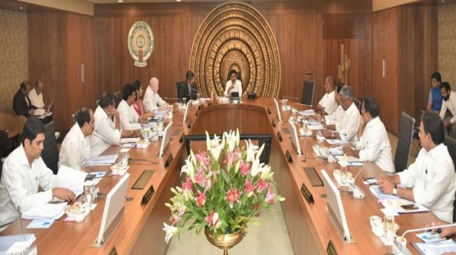 Cabinet Meeting chaired by Chief Minister YS Jagan Mophan Reddy - Sakshi Post