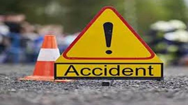Two Died in a Road Accident At Kamareddy - Sakshi Post