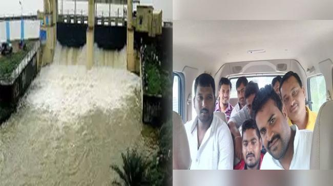 Six Passengers Missing As Car Plunges Into Sagar Canal - Sakshi Post