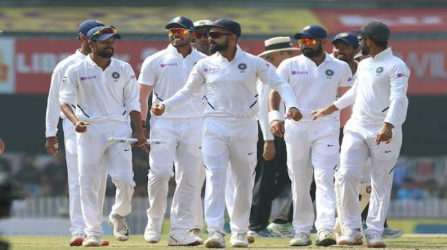 India on Tuesday consolidated their position at the top of the International Cricket Council's World Test Championship table - Sakshi Post