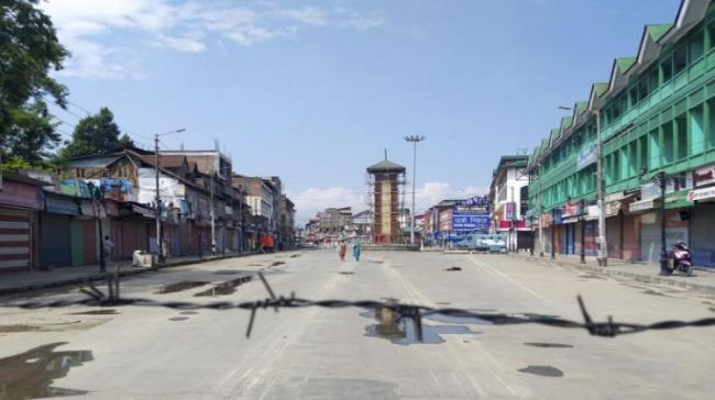 Normal life was hit in Kashmir for the 82nd consecutive day on Friday - Sakshi Post