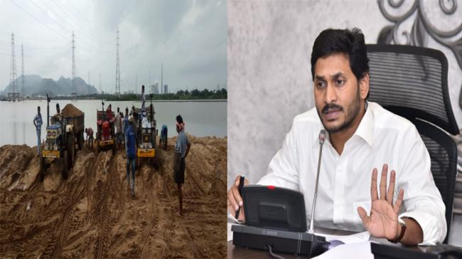 AP CM YS Jagan review meeting on Sand Mining operations in the state - Sakshi Post