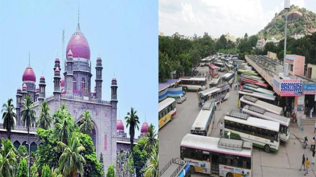 TSRTC Strike: HC Anger Over Governments' Non- Cooperation - Sakshi Post