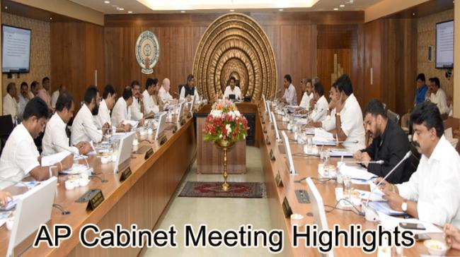 AP Cabinet Meeting Key Decisions - Sakshi Post