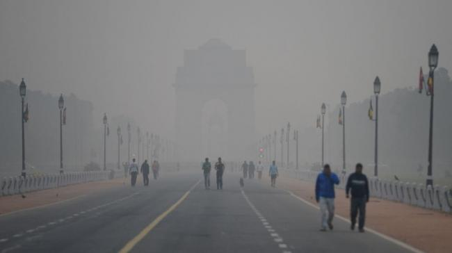 The air quality in Delhi-NCR deteriorated further Thursday night - Sakshi Post