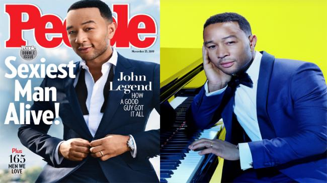 John Legend on the cover of People Magazine - Sakshi Post
