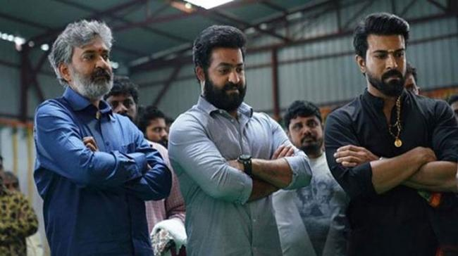 Rajamouli, Jr NTR and Charan - Sakshi Post