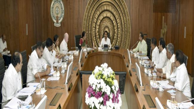 Cabinet meeting chaired by Andhra Pradesh Chief Minister YS Jagan Mohan Reddy - Sakshi Post