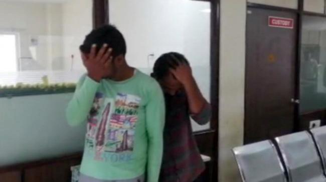 Chittoor district police arrested both the accused who sexually assaulted the 16-year-old girl on the pretext of giving a lift to her on their motor-bike. - Sakshi Post