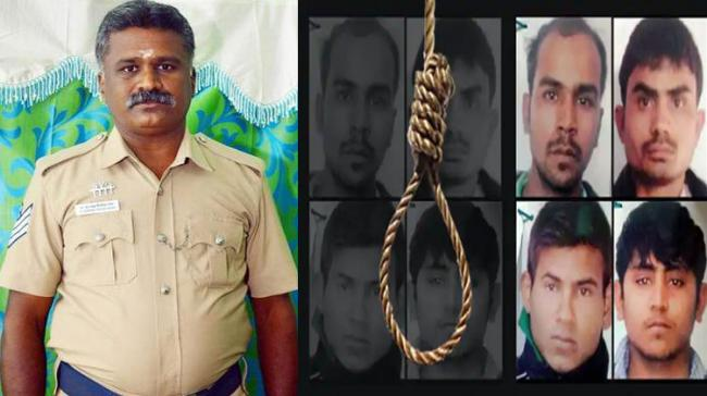 S. Subash Srinivasan, a head constable from Tamil Nadu has volunteered to do the hangman's job for Nirbhaya's accused - Sakshi Post