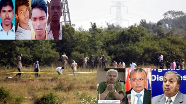3-Member Commission Appointed To Probe Into Telangana Encounter - Sakshi Post