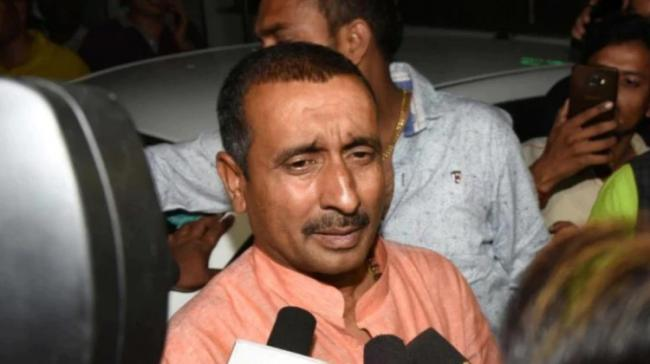 A Delhi court on Friday sentenced expelled BJP lawmaker to life in prison in the 2017 Unnao case for raping a minor. - Sakshi Post