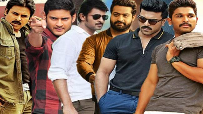 A collage picture of all Tollywood heroes - Sakshi Post