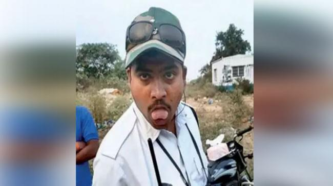 Traffic Policeman Making Inappropriate Gestures - Sakshi Post
