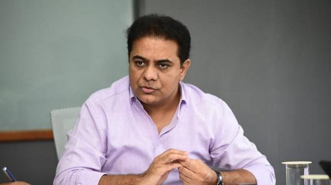 TRS working President K T Rama Rao - Sakshi Post