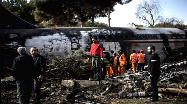 Ukrainian Boeing 737 crashed shortly after taking off from the Iranian capital city of Tehran. - Sakshi Post