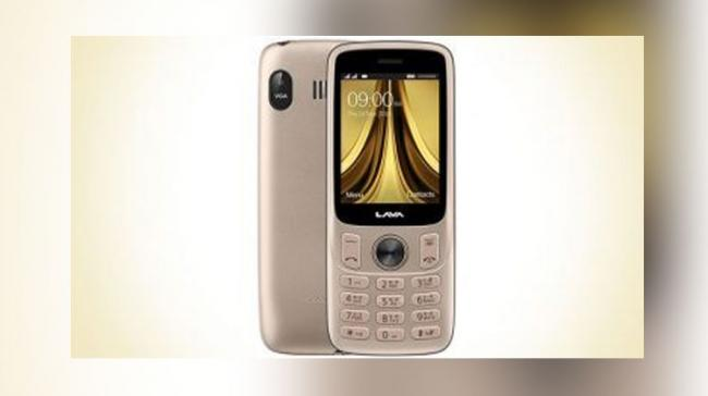 The device comes with a 2.4-inch display and dual SIM support - Sakshi Post