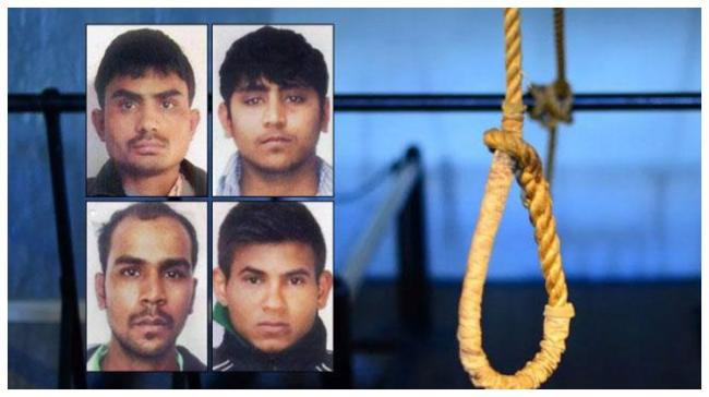 Dummy Hanging Of Four Convicts Performed - Sakshi Post