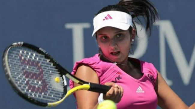 Indian tennis ace Sania Mirza - Sakshi Post
