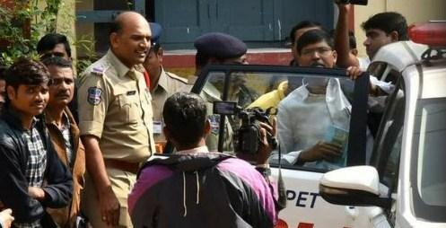 Police had arrested Proffesor Kasim  - Sakshi Post