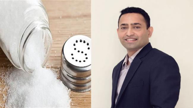 DrDilip Gude, founder of South Asian Research Center for Metabolic Disorders(SARC-MD), spoke about the impact of high intake of salt - Sakshi Post