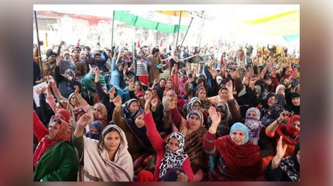 Women protesting against CAA and NRC - Sakshi Post