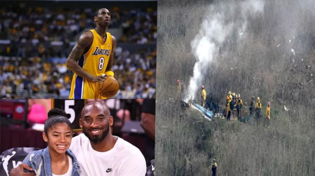 Kobe Bryant along with his 13-year old daughter died in a helicopter crash - Sakshi Post
