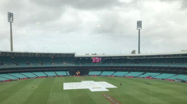 Not a single ball could be bowled as rain washed out - Sakshi Post