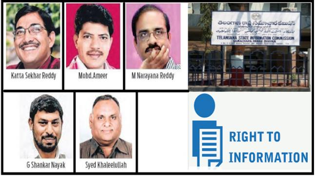 Telangana: Information Commissioners Appointed - Sakshi Post