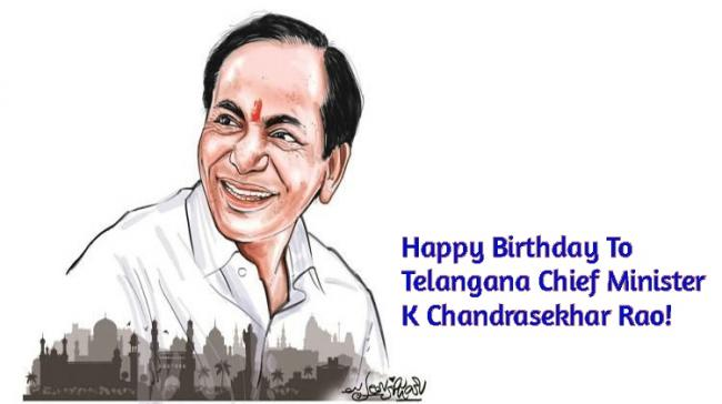 Telangana Chief Minister K Chandrasekhar Rao - Sakshi Post