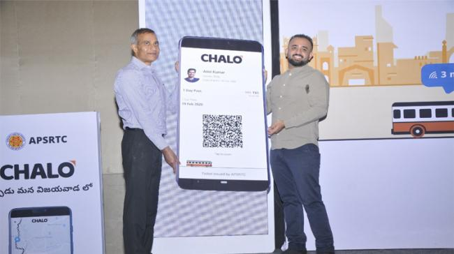 APSRTC Vice Chairman and MD Madireddy Pratap launched the Chalo Mobile App - Sakshi Post