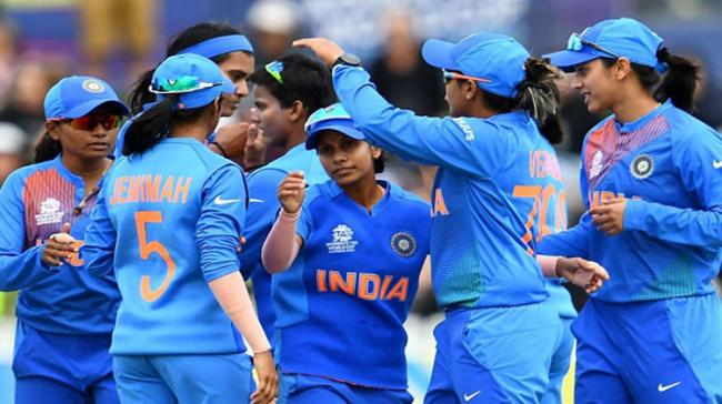 Women's T20 WC: Shafali Stars As Ind Beat NZ To Qualify For Semis - Sakshi Post