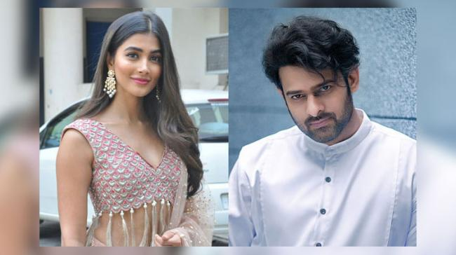Pooja Hegde and Prabhas - Sakshi Post