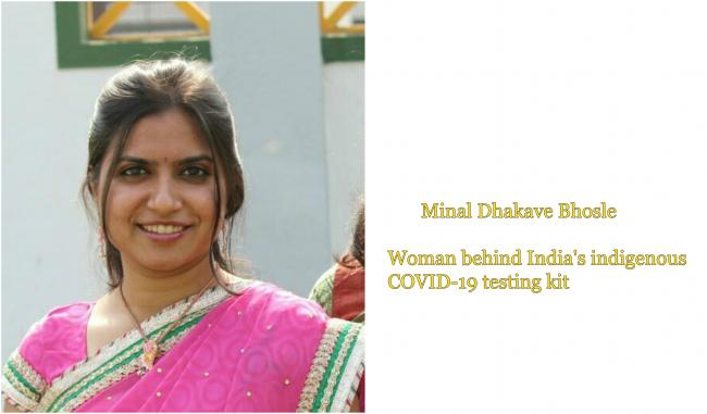Chief of Mylab's R&D and Virologist Minal Dakhave Bhosale - Sakshi Post