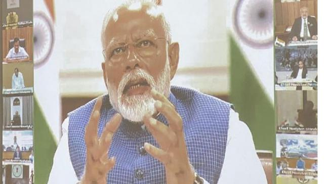 PM Outlines Govt's Priority To  Chief Ministers - Sakshi Post